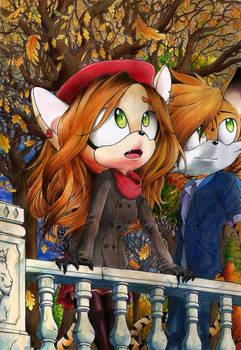 Strip x Elisabeth: Arbores autumnales