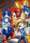 Knuckles-Tails: Hard training