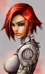 SP: Sci-fi girl concept 1