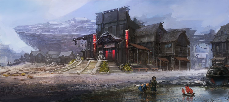 FFO:  Frontier Village by JNickBlack
