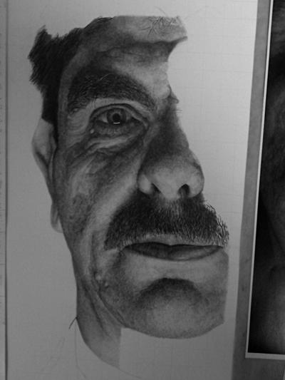 wip old guy by WJLACEY