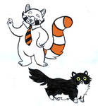 Panda and Kitty