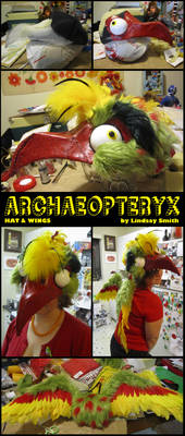 Archaeopteryx Hat and Wings