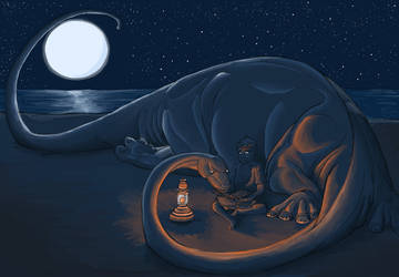 Me and My Diplodocus by JamminBison