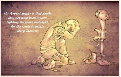 A Soldier's Prayer by JamminBison