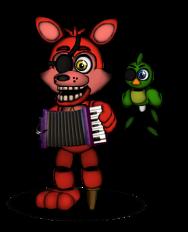 FFPS Rockstar Foxy by FredEdits2003