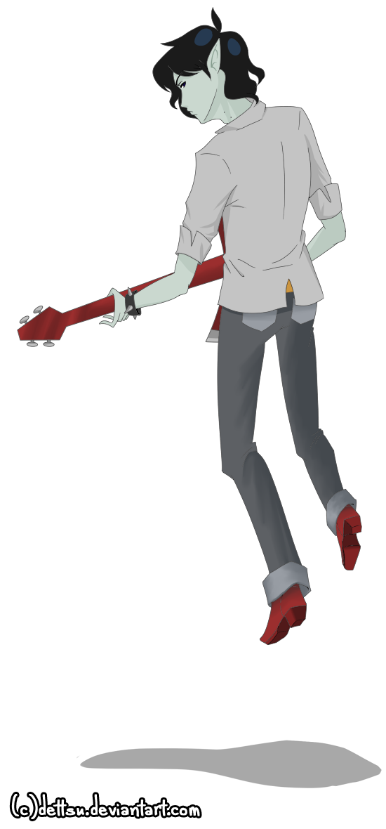 Marshall Lee the Vampire King by dettsu