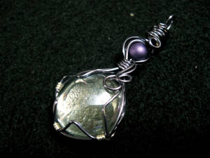 Gothikah Mini Magnifying Glass Pendant