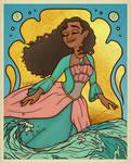 Moana as the Island Princess