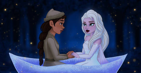 Frozen 2: Looks like the girls to shy by Toyboy566