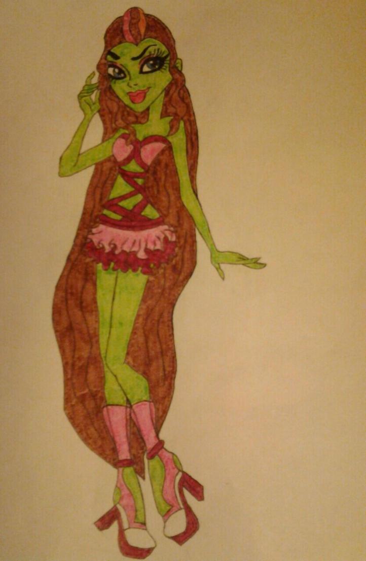 Felicia Ogre MH OC by myers30534