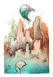 City (IF) by shloono