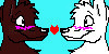 Wolf Couple Group Icon by Katea4ever