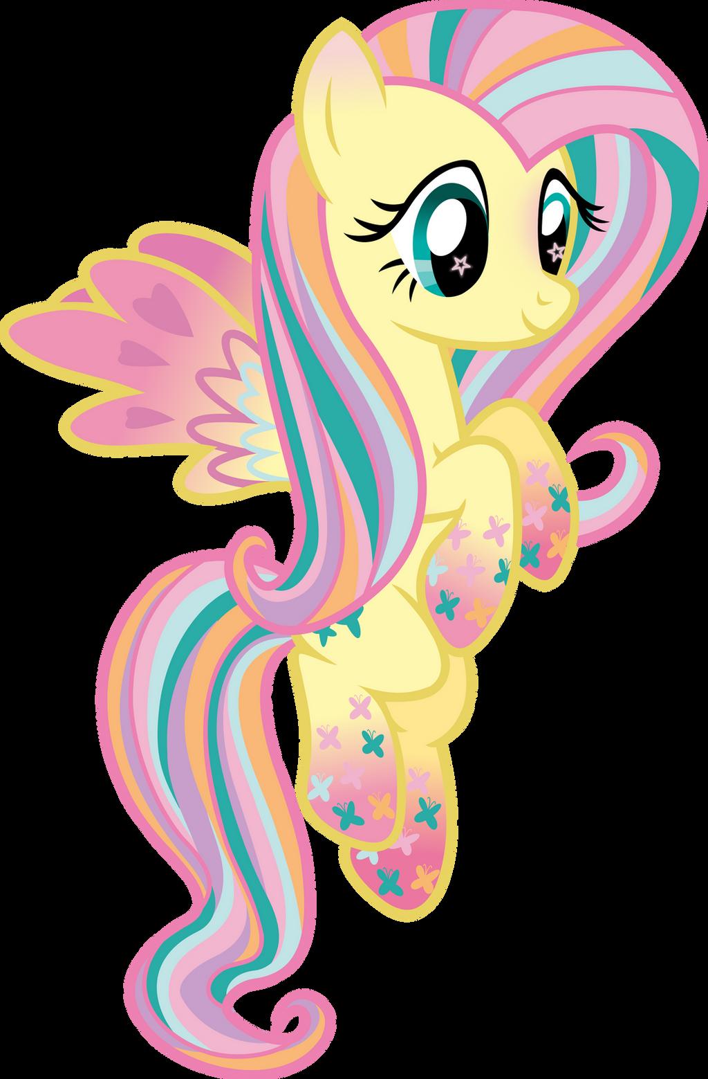 Rainbow Power Fluttershy by strawberrythefox1452 on DeviantArt