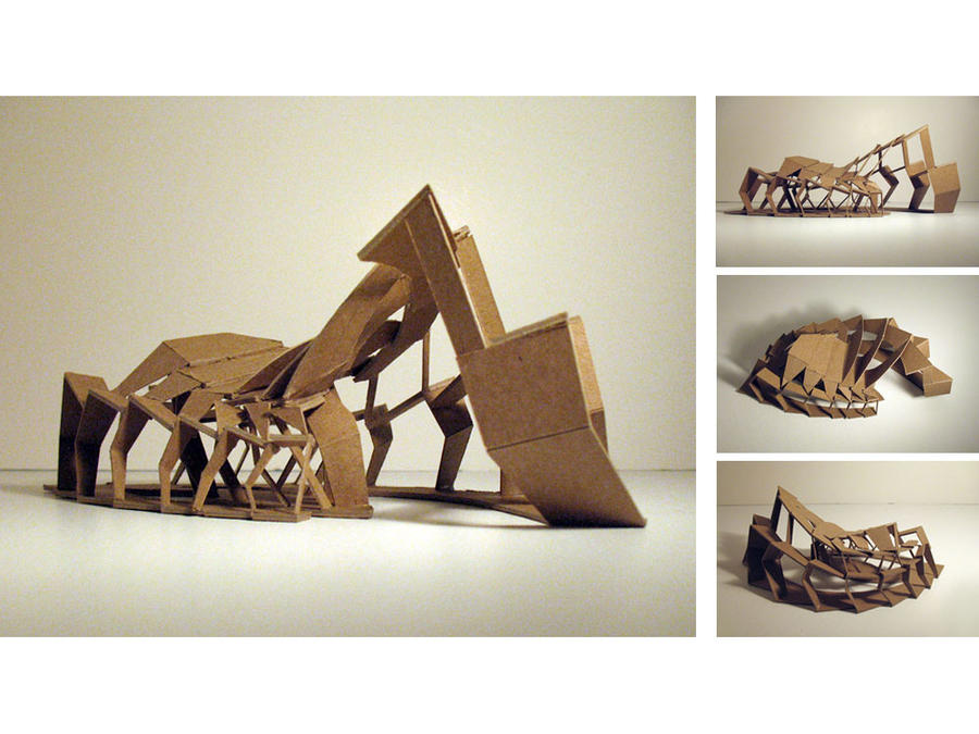 Ferry terminal concept model by m yun on deviantart for Architectural concept models
