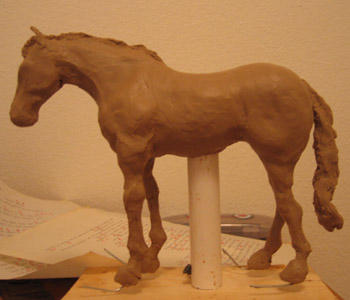 Horse Sculpture by m-yun