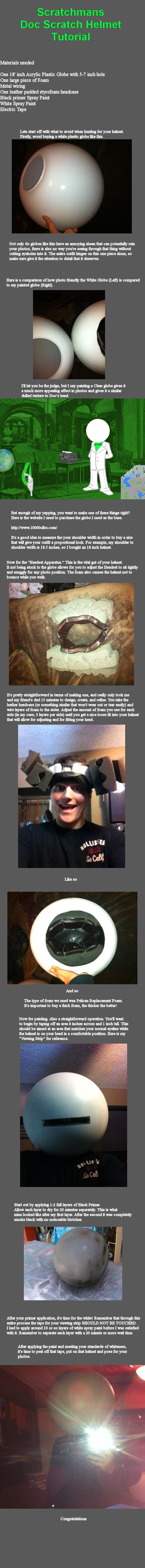 Scratchman's Helmet Tutorial by ScratchTheMan