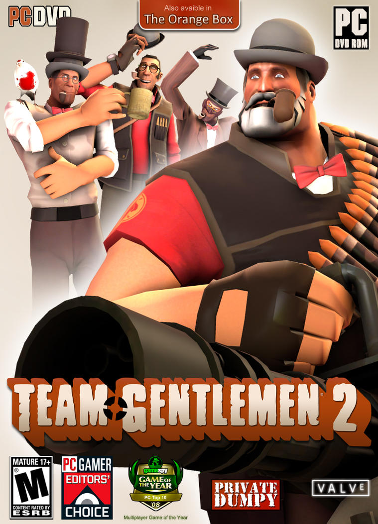 Team Gentlemen 2 Game cover (Request) by PrivateDumpy