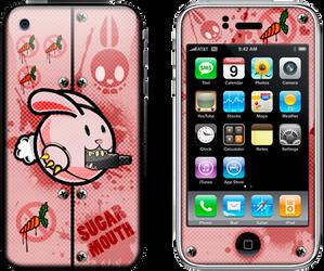 iPhone Skin titled: Sugar Mouth   orginal theme