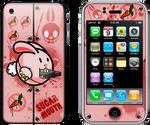 iPhone Skin titled: Sugar Mouth | orginal theme