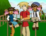 Rhea, Jake, and Ramirez