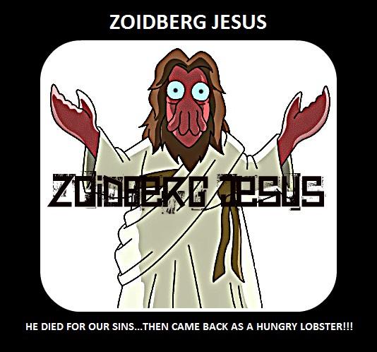 zoidberg jesus by superbadgerman on deviantart
