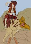 Gypsy Archer (flat color)