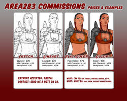 Area283 - Commissions - Info