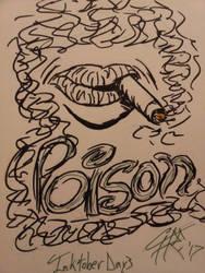 Inktober Day 3 - Poison