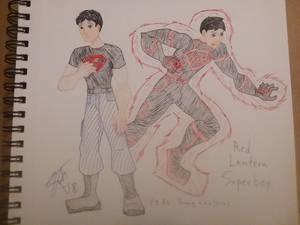 Red Lantern Superboy