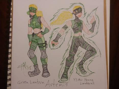 Green Lantern Artemis