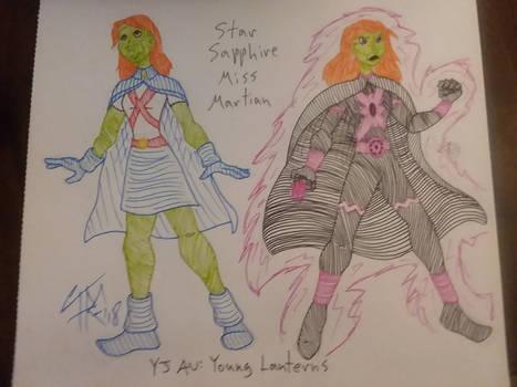 Star Sapphire Miss Martian