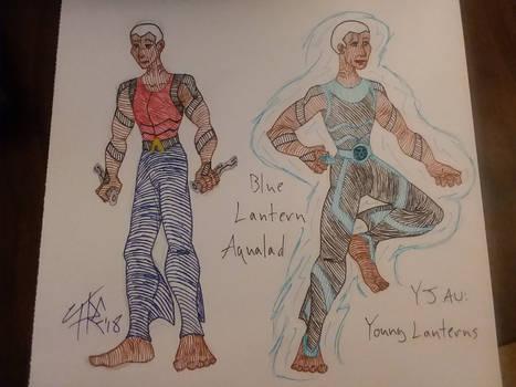 Blue Lantern Aqualad