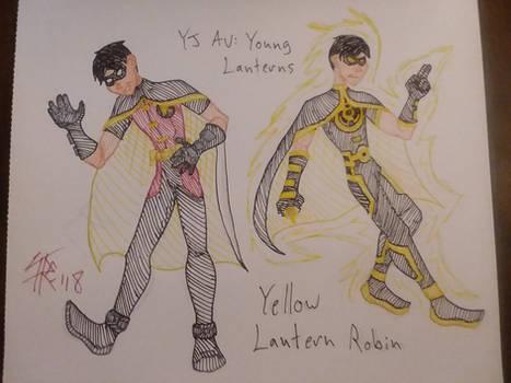 Yellow Lantern Robin