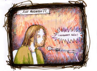 Nirvana Unplugged by madewithsadness