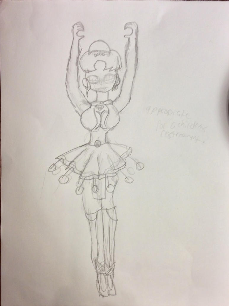 Ballora The Ballerina by thiscloddraws