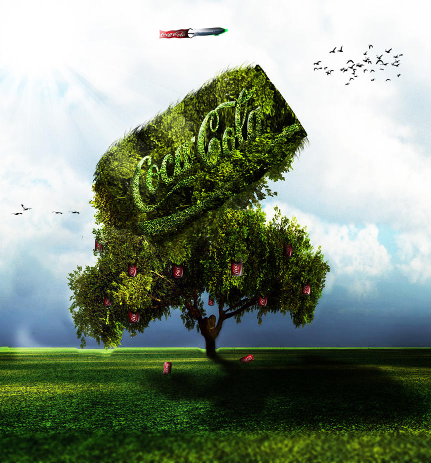 Coke Tree by michaeldesigner15