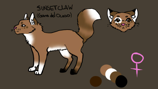 Sunsetclaw - Ref by Akinal78