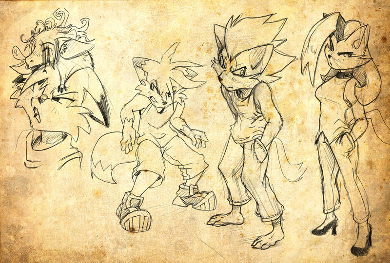 Sketches 101 by SupaCrikeyDave