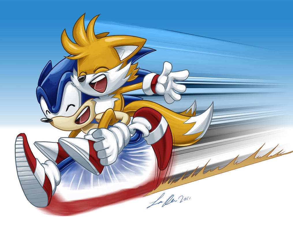 [Archive] Clichés de Tails Sonic_and_tails_by_supadave_3-d3hqr1x