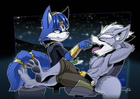 Commission: Wolf O'Donnel and Krystal