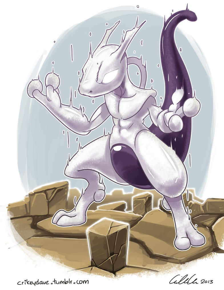 Mewtwo by SupaCrikeyDave