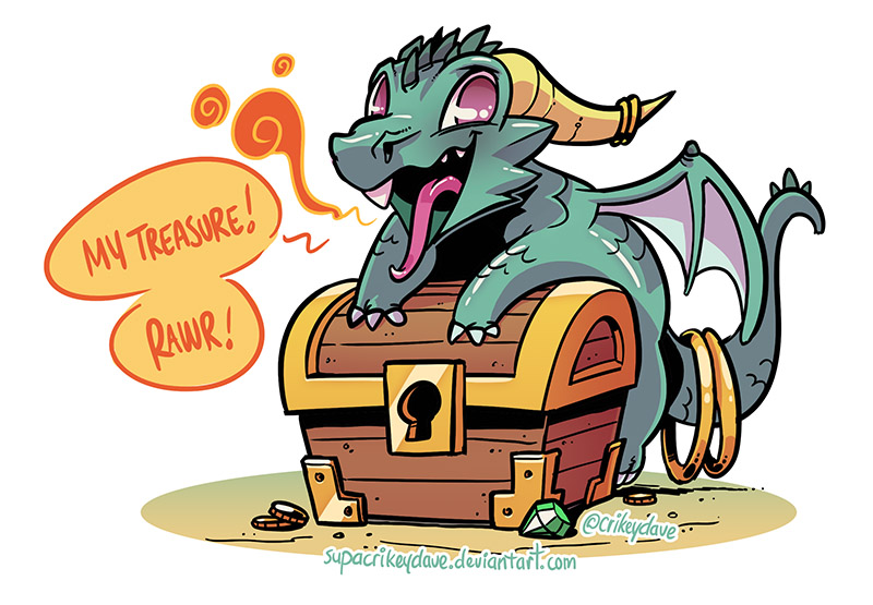 Dragons Treasure kostenlos spielen | Online-Slot.de