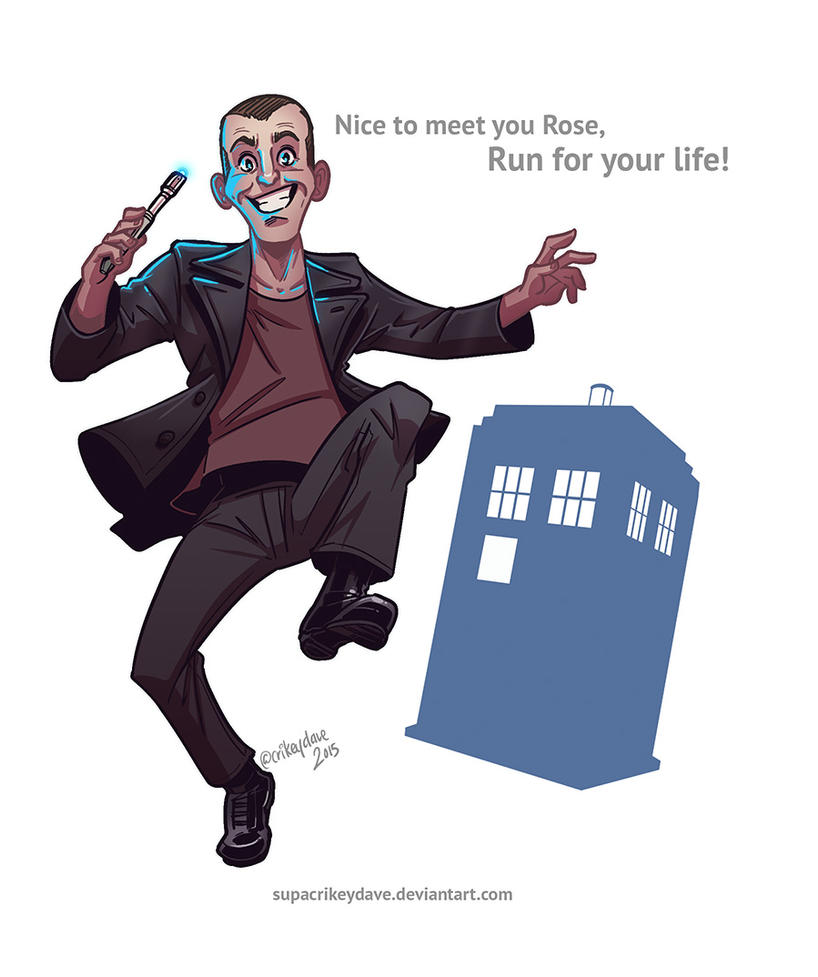 9th Doctor by SupaCrikeyDave