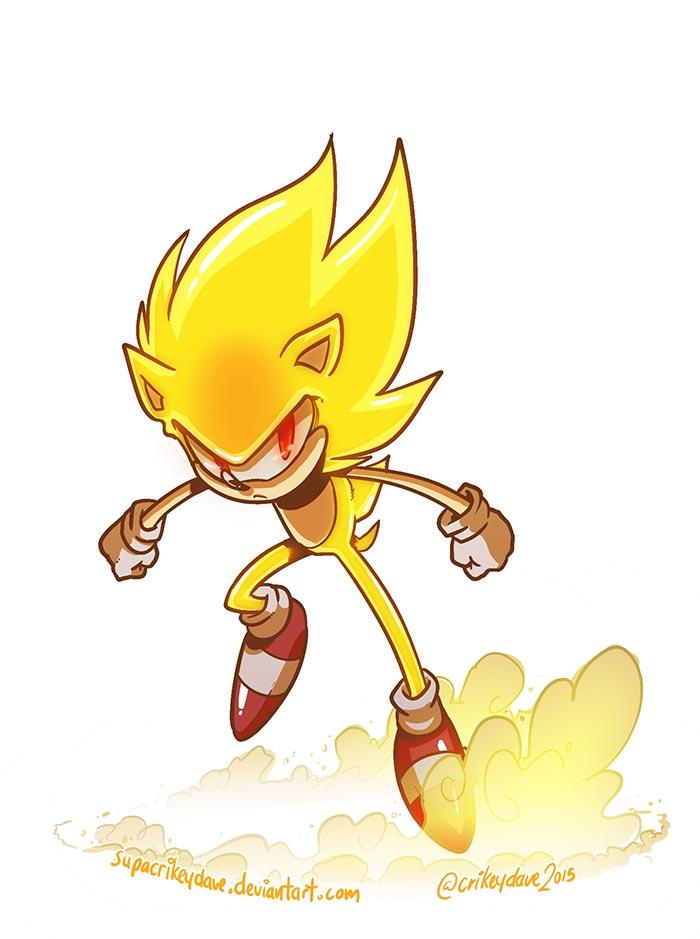 Super Sonic by SupaCrikeyDave on DeviantArt