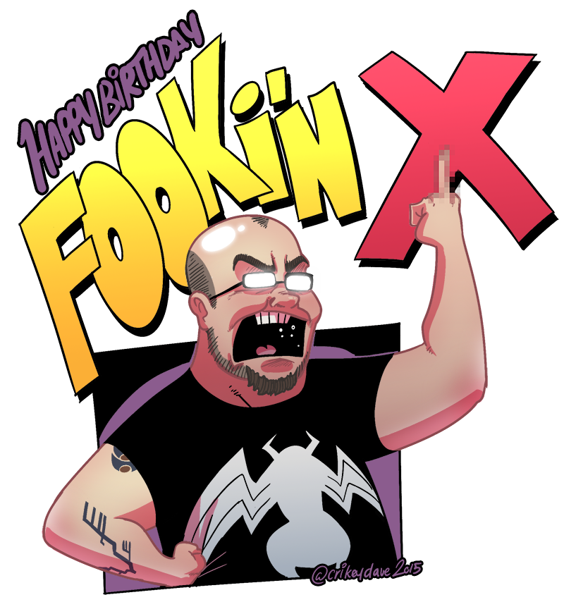 Fookin X by SupaCrikeyDave