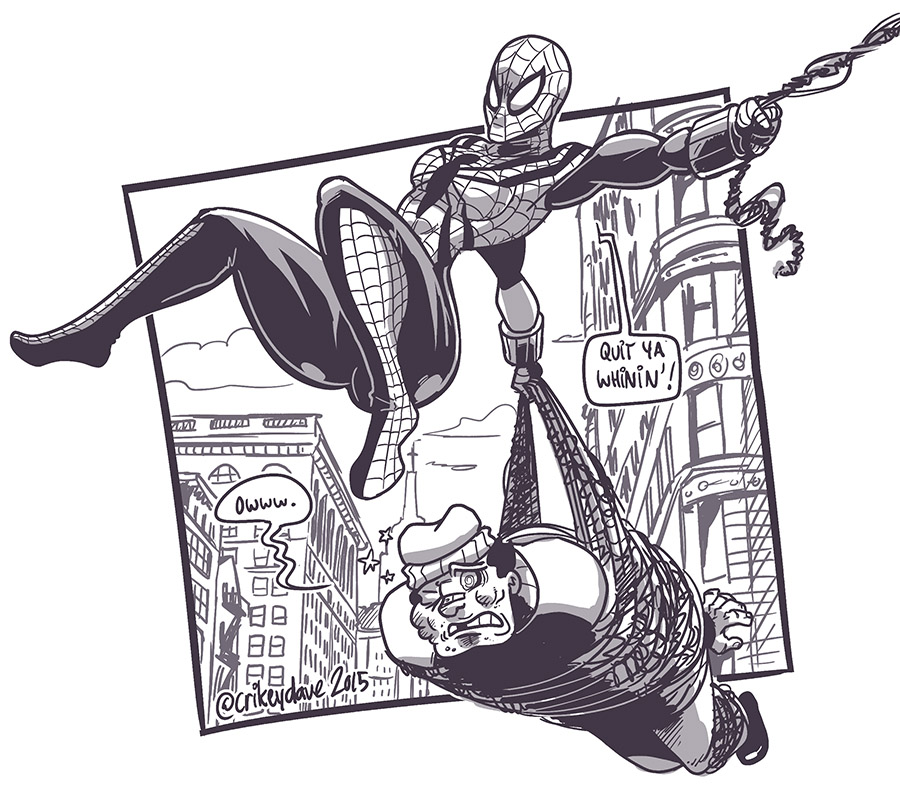 Spider-Girl by SupaCrikeyDave