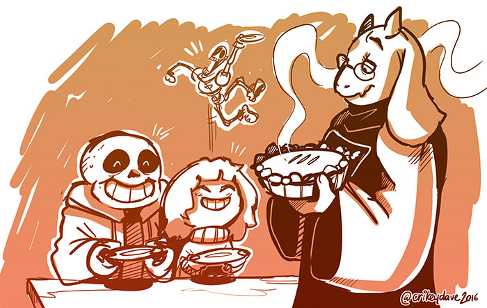 Toriel Family by SupaCrikeyDave