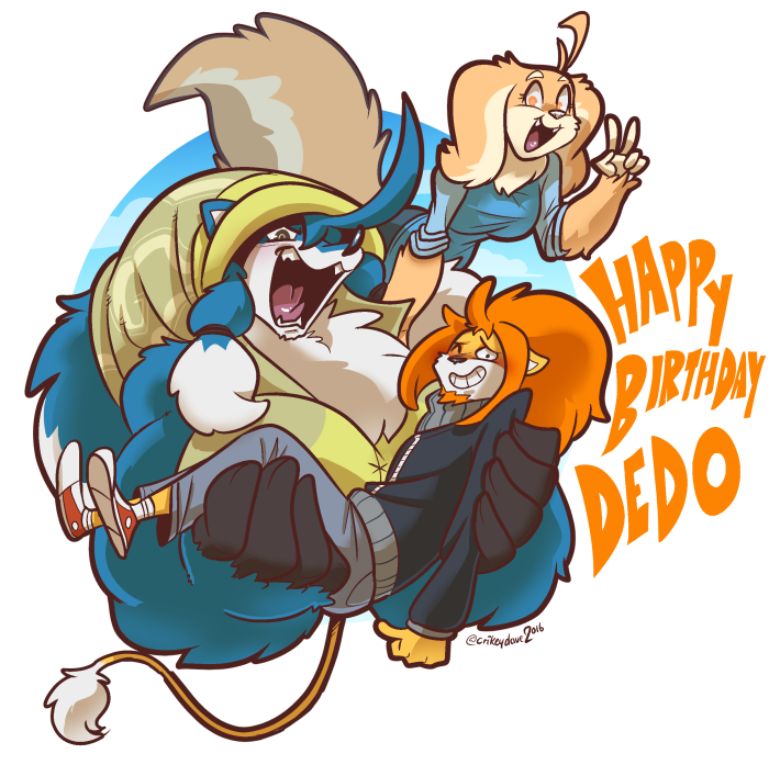 Happy Birthday DEDO! by SupaCrikeyDave