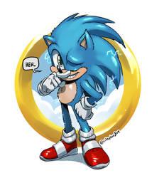 Sonic the Movie Hog